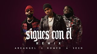 Video Sigues Con Él (Remix) de Arcángel feat. Sech y Romeo Santos