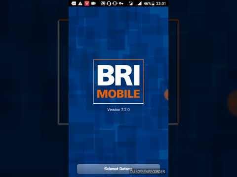Cara menggunakan mobile banking BRI
