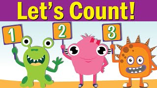 Let's Count! 1 - 10 | Counting and Numbers Song 1 to 10 | Fun Kids English