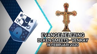 Evangelielezing deken Smeets Venray – 16 februari 2020 - Peel en Maas TV Venray
