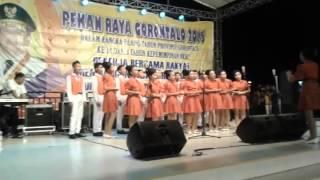 preview picture of video 'padua suara SMP NEGERI 1 KWANDANG kabupaten gorontalo utara'
