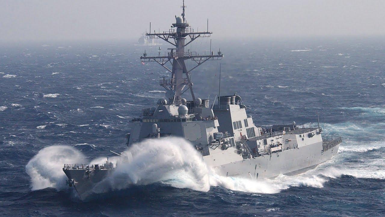 US Navy • Anti-Submarine Warfare • Arleigh Burke-Class Destroyer USS Howard June 16 2021