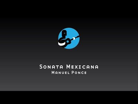Sonata Mexicana by Manuel Ponce