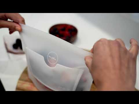 ZipBag: No More Plastic Bags. Lifetime Warranty.-GadgetAny