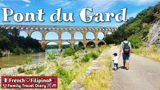 Pont Du Gard, France🇫🇷 Ancient roman aqueduct #gala after quarantine