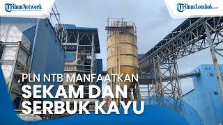PLN NTB Manfaatkan Sekam dan Serbuk Kayu Jadi Sumber Energi Terbarukan