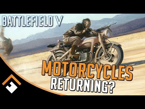 Motorcycles Coming to Battlefield V? Welbike, R12 Datamined