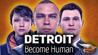 Стрим - Detroit: Become Human - Ламповое прохождение - Часть 3
