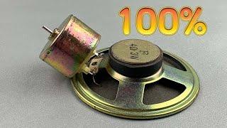 Electrical Science Free Energy generator Using Speaker Magnet work 100% / At Home 2021