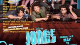 karaoke jonas brothers PIZZA GIRL