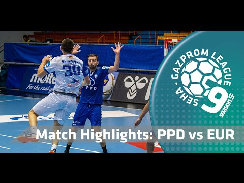 Match highlights: PPD Zagreb vs Eurofarm Rabotnik