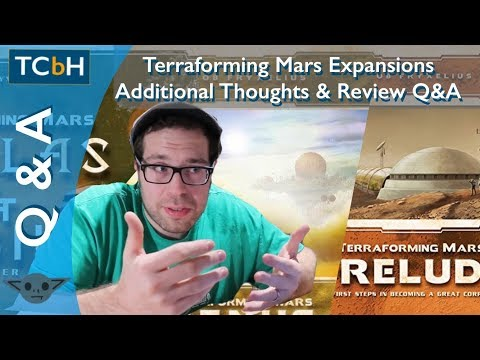 The Cardboard Herald - Terraforming Mars Expansions - Additionally Thoughts & Review Q & A