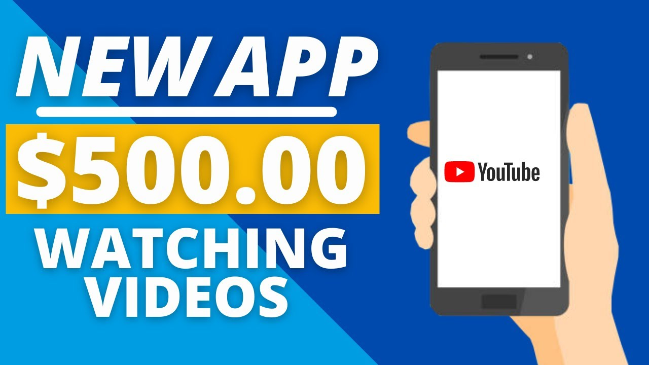 Make $500 By Watching Videos on YouTube (Generate Income Online) thumbnail