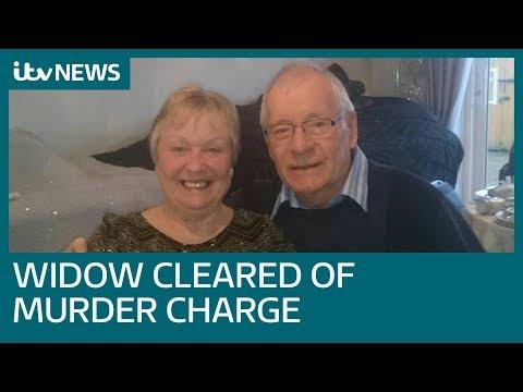 Grandmother Mavis Eccleston cleared of murder of terminally ill husband | ITV News