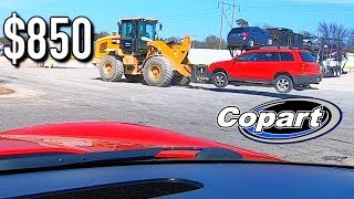 Copart Salvage 04 Mitsubishi Outlander Win $850