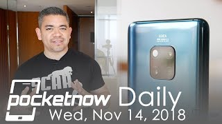 Huawei's plans for 2019, iPhone X explodes & more