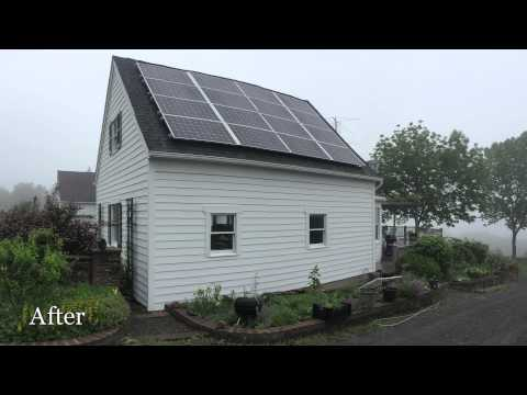 Two years before deciding to upgrade to solar energy, Candace had the furnace in her Trumansburg, NY home...