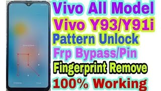 vivo 1816 pattern unlock miracle crack - TH-Clip