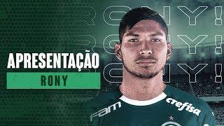 APRESENTAÇÃO DO ATACANTE RONY
