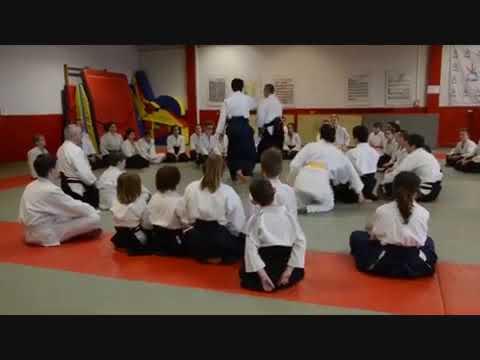Aikido Stage Jeunes Lunéville 3 Février 2019 part3