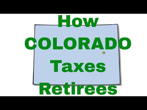 How Colorado Taxes Retirees