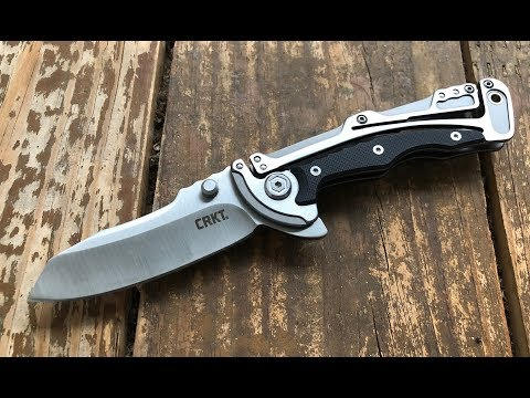 The CRKT Klecker Graphite Pocketknife: The Sufficient Nick Shabazz Review