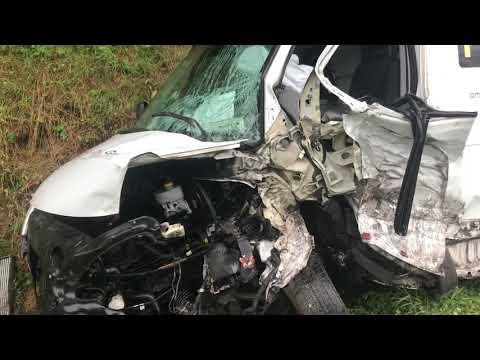 Wideo1: Wypadek w Jezierzycach Kościelnych