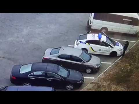Attack on police in Dnipro