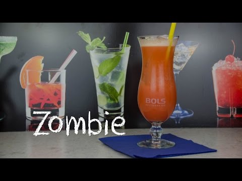 Zombie - der starke fruchtig süße Cocktail-Klassiker