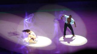 sytycd tour Ashley and Ade Cosmic love contemporary dance nyc radio city 10.7.10