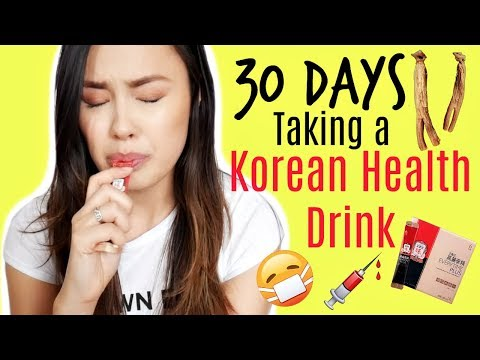 30 Days of Taking a Korean Red Ginseng Supplement for Health