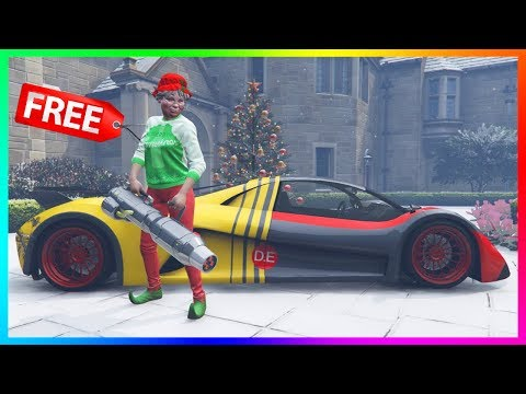 GTA 5 Online - ALL FREE FESTIVE SURPRISE 2018 GIFTS! FREE Vehicles, RARE Items & Exclusive Sweaters!