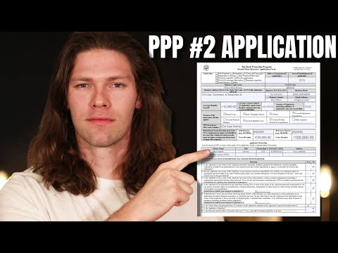 PPP Round 2 Application UPDATED [Self Employed, 1099, & Small Business]