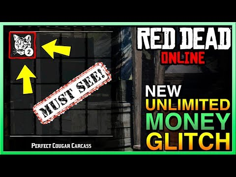 BRAND NEW EASY Red Dead Online Money Glitch - UNLIMITED SELL Red