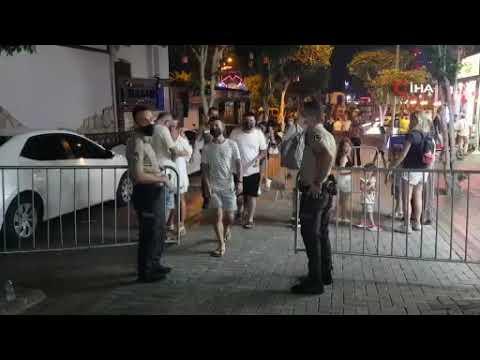 Barlar sokağında maske zorunluluğu