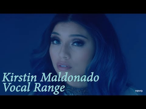 Kirstin Maldonado Vocal Range | B2 - B♭7 | HD