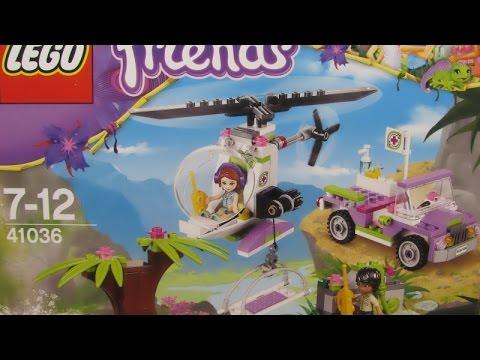 Vidéo LEGO Friends 41036 : Opération d'urgence sur le pont de la jungle