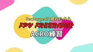 FPV Freerider 練習
