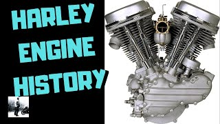What Is The History Of Harley Davidson Motorcycle Engines - Complete List Of All H D Engines