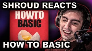 Shroud Reacts to HowToBasic