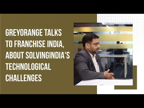GreyOrange talks to Franchise India, about solving India\'s technological challenges