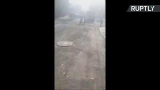 Пожар в Ростове-на-Дону — LIVE