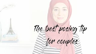 The best tip for posing as a couple