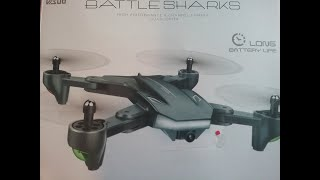 VISUO XS816 Drone with Camera 4K Wifi FPV Unboxing