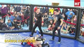 Соревнования по жекпе-жек в Костанае