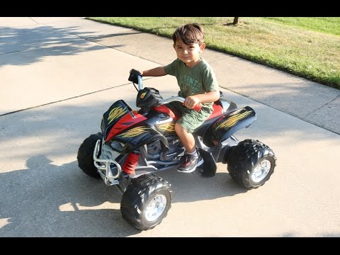Kids Fisher-Price Power Wheels Hot Wheels Kawasaki KFX