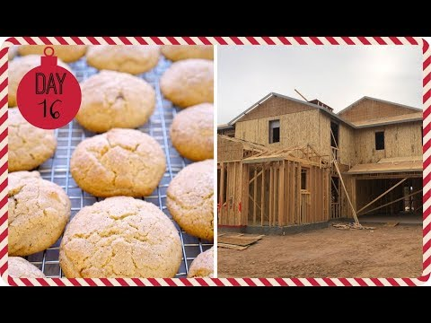 VLOGMAS 2018 ❄ Day 16 | House Update & Eggnog Snickerdoodle Cookies