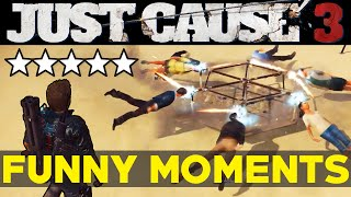Just Cause 3: Funny Moments EP.1 (JC3 Epic Moments Funtage Montage Gameplay)