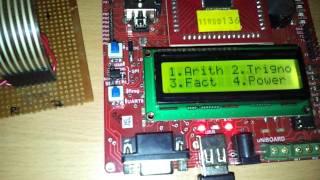 scientific calculator using avr atmega 64