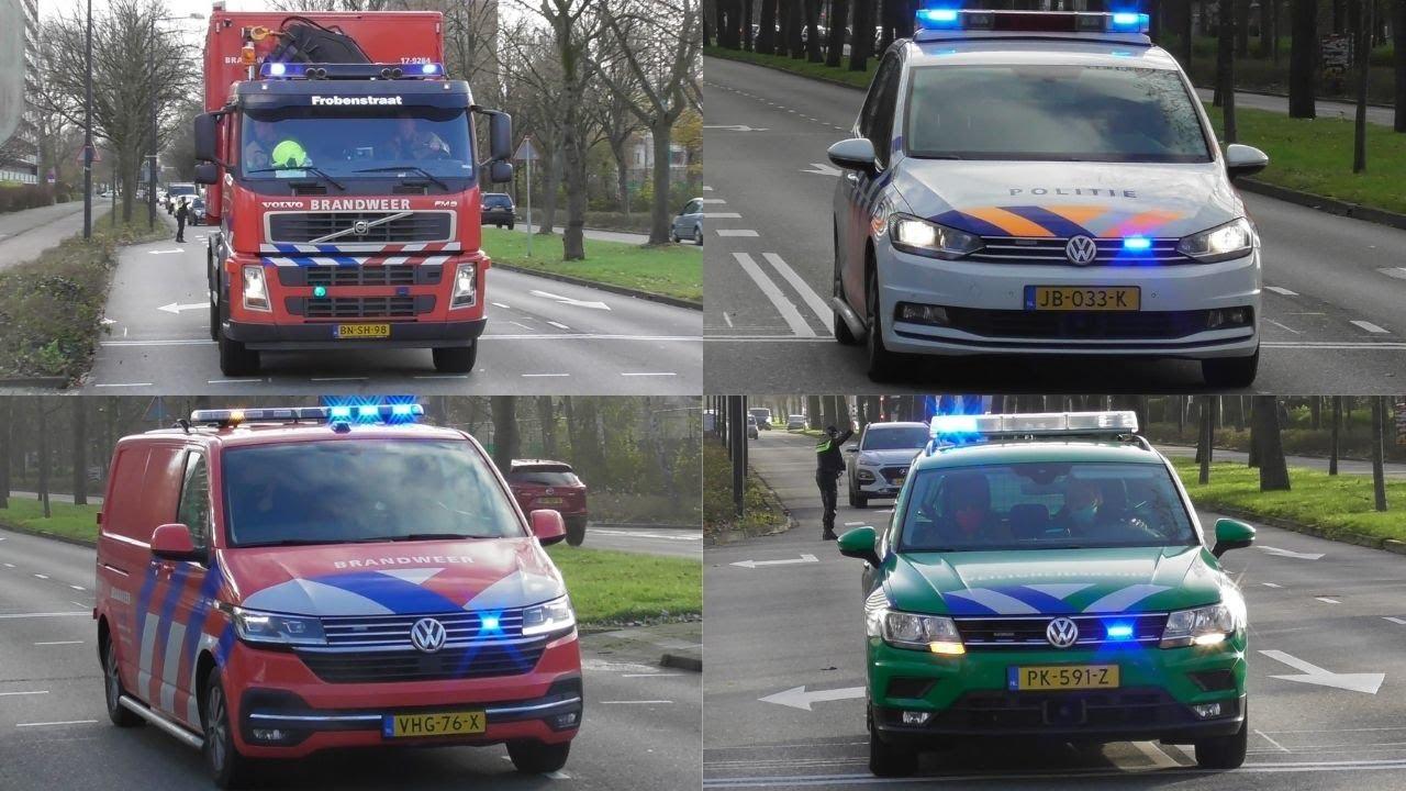 [Primeur] Zeer grote brand bij bowlingcentrum Dok 99 Vlaardingen – Hulpdiensten met spoed onderweg